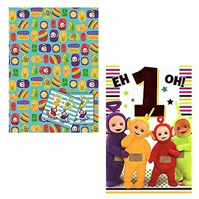 Teletubbies Age 1 Birthday Card New 199 Picclick Uk