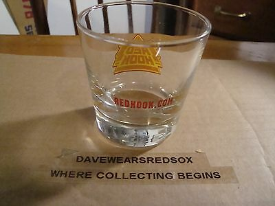 Red Hook 5 OZ Beer Glass Excellent Condition Scratch Free