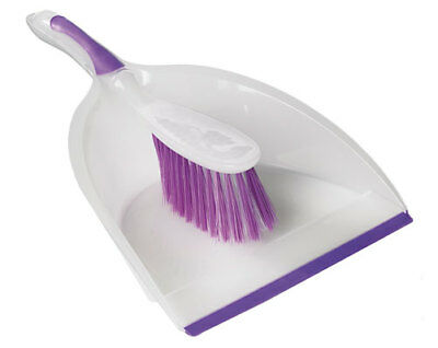 brush and dustpan pan set dust cleaning plastic home sweeping handheld clean new