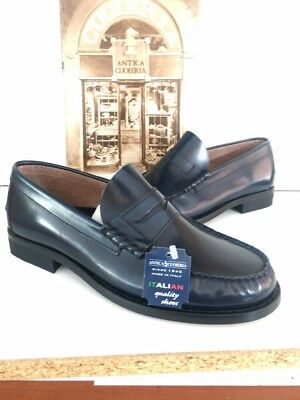 Scarpe Uomo Antica Cuoieria N 39 Cod 311 Shoes Made In Italy Since 1945 €169 8f1275d99ba
