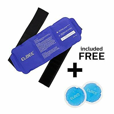 Hot &amp Cold Therapy Pad Reusable Gel Ice Pack Pain Relief Sports Injury X-L...