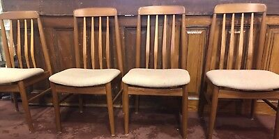 Beautiful Mid Century Modern Set Of 4 Benny Linden Chairs