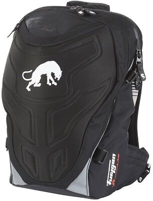 Furygan Fusion Motorbike Backpack Black with Laptop Compartment and Rain Cover
