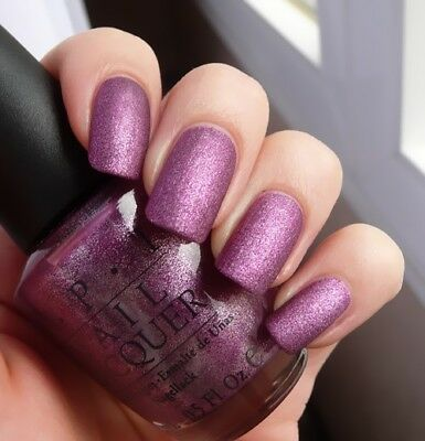 """OPI *RARE* Nail Polish """" WE'LL ALWAYS HAVE PARIS ~ SUEDE """" New/Full Size & RARE!"""