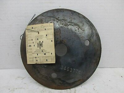 Nos International Harvester Cyclo Planter Seed Drum End Cap Plate 546377R1