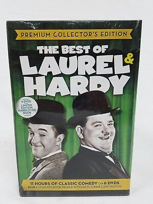 The Best of Laurel & Hardy Premium Collectors Edition 6 DVD Box Set New Sealed