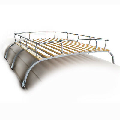Empi 15-2011 Classic Vintage Vw Type 2 Bus Roof Rack Fits 1950-1979