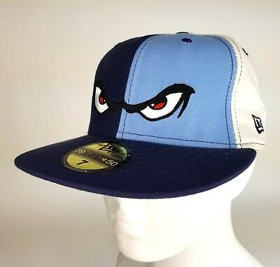 Lake Elsinore Storm NEW ERA 5950 Fitted Cap Hat Size 7 Angry Eyes Minor  League 0a141cb5541e