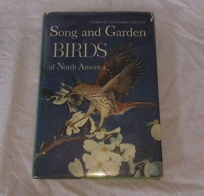 1964 National Geographic Song and Garden Birds of North America with Record