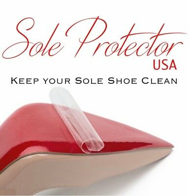 New Red Bottoms Crystal Clear 3M sole protector guard for Christian Louboutin