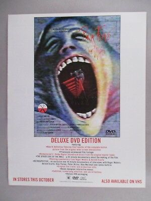 """Pink Floyd """"The Wall"""" PRINT AD - 1999"""