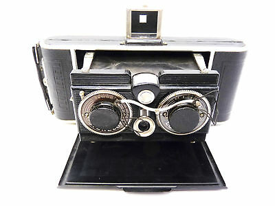 LUMIERE STERELUX   FOLDING  STEREO  CAMERA first model      3844