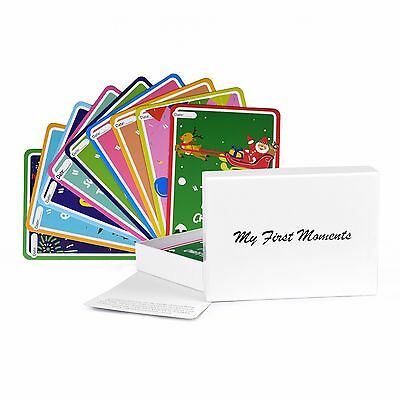 My First Moments Perfect Baby Milestone Landmark Cards 38 Cute Illustrated Cards