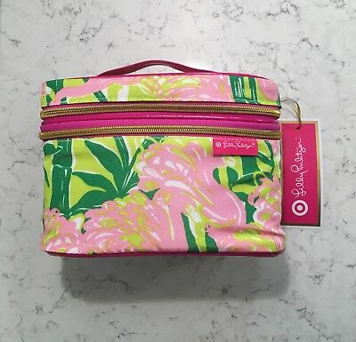 NWT Lilly Pulitzer Travel Case, Fan Dance