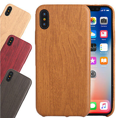 Wooden Vintage retro Flexible Thin TPU Back Case Cover For Apple iPhone X,XS,8,7
