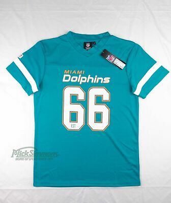 NEW Miami Dolphins NFL Mesh Polyester T-Shirt