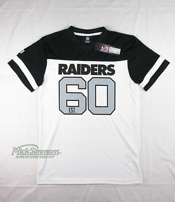 NEW Oakland Raiders NFL Mesh Polyester T-Shirt