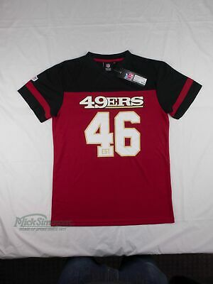 NEW San Francisco 49ers NFL Mesh Polyester T-Shirt