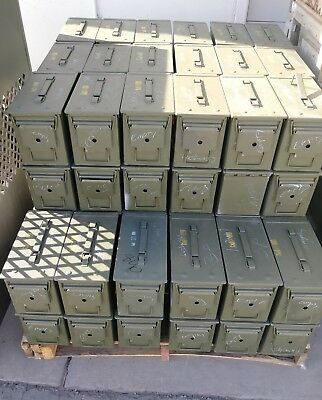 US Military Ammo Cans 5.56 size