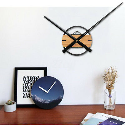 AU Large DIY Silent Quartz Wall Clock Movement Hands Mechanism Repair Parts Tool