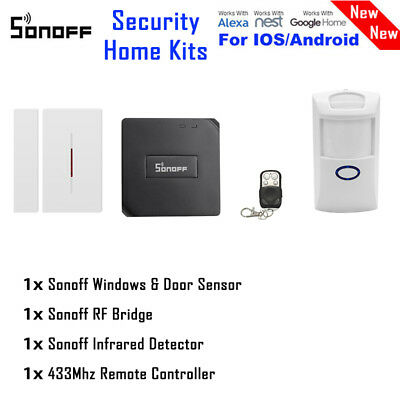 Sonoff Wireless RF Bridge 433MHz Wifi App Remote Ctrl DIY Automation/ Sensor W9