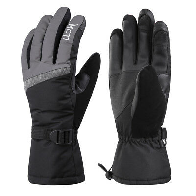 -30℃ Waterproof Womens Ski Snow 3M Thinsulate Touchscreen Winter Gloves Large