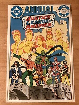 Justice League of America Annual #2 (1st Appearances of Vibe and Gypsy!) Key