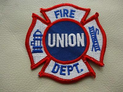 UNION PA. FIRE DEPT. PATCH  very collectible..!! OLD VINTAGE - ONLY ONE ON EBAY