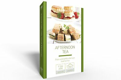 Afternoon Tea for Two Gift Experience - Enjoy a delightful treat available at