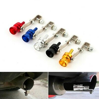 3x Car Exhaust Pipe Blowoff Valve Simulator Turbo Sound Whistle Car Accessories