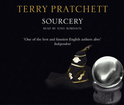 SOURCERY by TERRY PRATCHETT AUDIO BOOK CD  - NEW & SEALED DISCWORLD