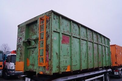 Sastra AMR Container Abrollcontainer Abrollbehälter Abrollmulde 40 m³ L Ca. 7,1m