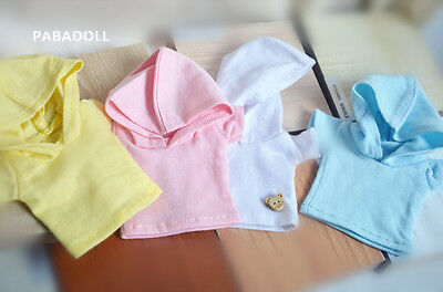 Simple Hoodie T-Shirt For BJD 1/6 YOSD 1/4 MSD,1/3 SD17 Uncle Doll Clothes CMB40