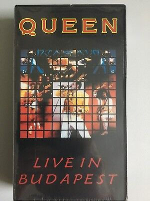 Queen - Live in Budapest - JAPAN - VHS NTSC still sealed