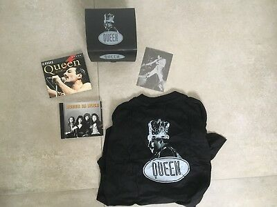 Queen - In Nuce - ITALY - limited edition BOX set CD booklet t shirt postcard