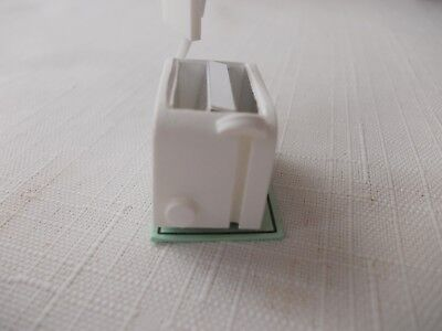 Non Working Modern White Toaster For A Dolls House