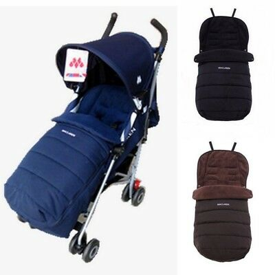 Universal Maclaren Baby Stroller Sleeping Bag Footmuff Warm thickened Sleepsacks