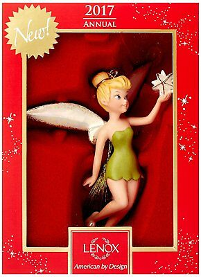 Lenox Disney 2017 Up and Away Tink Ornament Tinkerbell New 869908