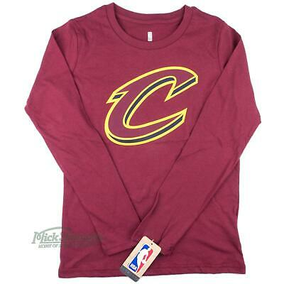 NEW Cleveland Cavaliers Kid's Primary Logo Long Sleeve T-Shirt