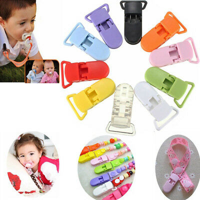 5/10/20 X Pacifier Dummy Clip For Boys And Girls Character Baby Dummies Holder