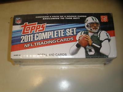 2011 TOPPS FOOTBALL COMPLETE SEALED FACTORY SET #1-440 w/ 5 CARD RC EXCLUSIVES