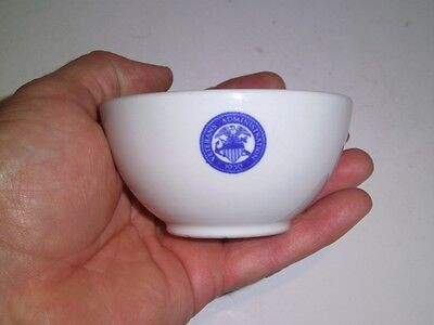 Veterans Administration 1930 logo Soup Custard Cup Shenango China New Castle PA