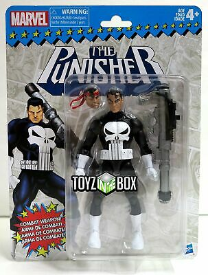 In STOCK Hasbro Marvel Legends Super Heroes Vintage The Punisher Action Figure