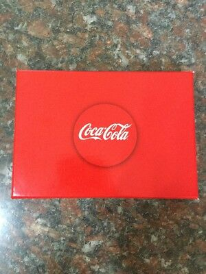 Coca Cola Playing Cards 2 Decks In Box