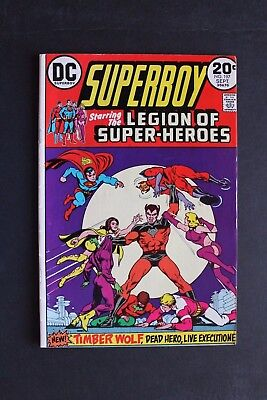 Superboy # 197  Legion Of Super-Heroes   Fn/vf  7.0