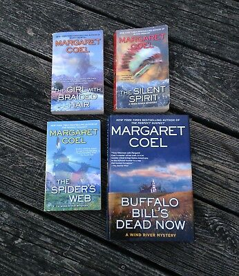 Wind River Mystery Series: Author: Margaret Coel/ Lot of 4/Preowned 13-14-15-16