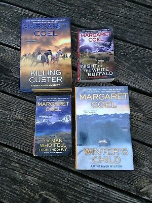 Wind River Mystery Series: Author: Margaret Coel/ Lot of 4/Preowned 17-18-19-20