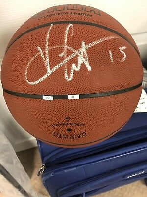 Autographed Vince Carter Basketball PSA Certified Signed A Few Left