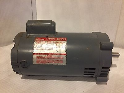 Dayton Jet Pump Motor 1HP 115/230V 60 HZ 1 PH 3450 RPM