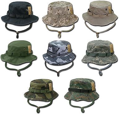 Military Style Boonie Hunting Army Fishing Outdoor Hiking Bucket Jungle Cap Hat